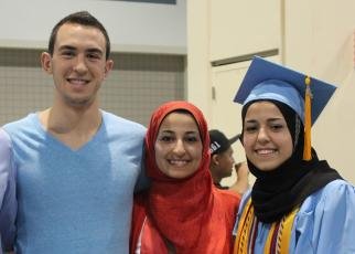 From Left - Deah, Yusor & Razan